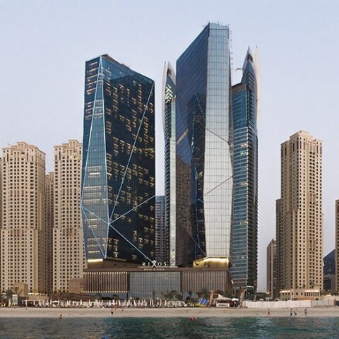 Al Fattan Crystal Towers B+G+21F+R